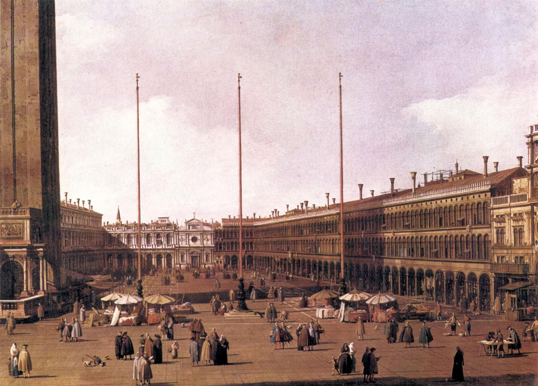 Piazza San Marco [2] - Canaletto